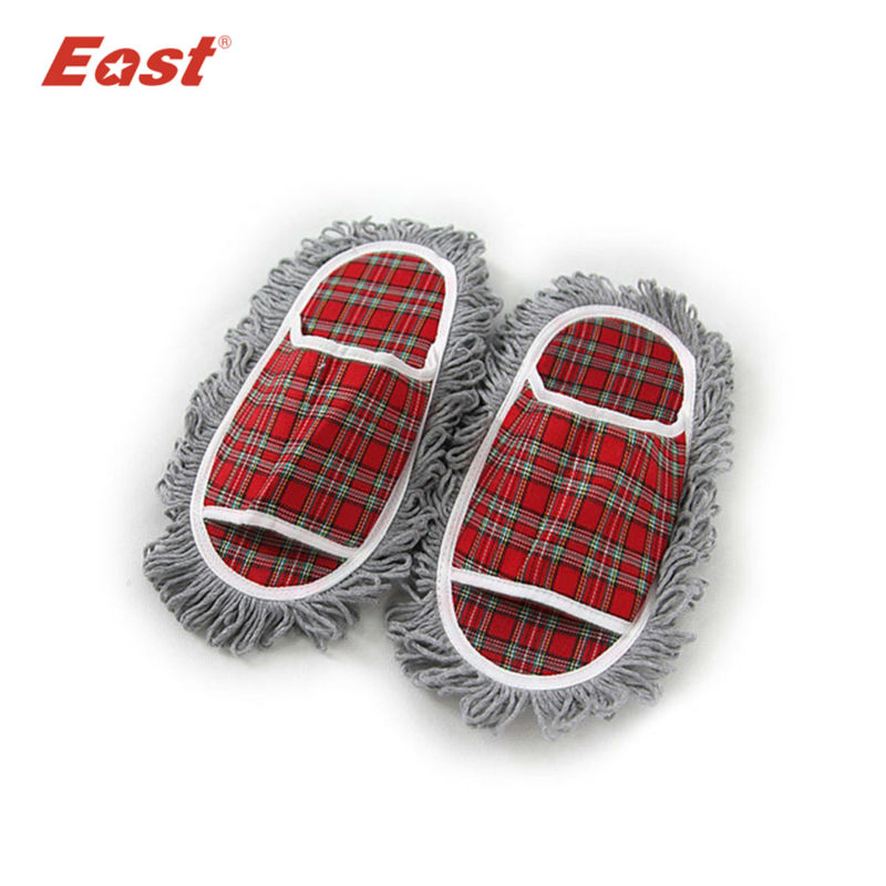 East cleaning spring and autumn lazy woman Home floor cool cotton slipper dust mop house cleaner shoes slipper
