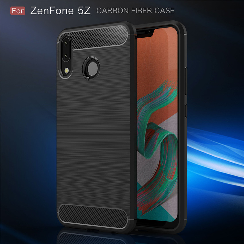 For <font><b>Asus</b></font> <font><b>ZenFone</b></font> 5z ZS620KL/<font><b>Zenfone</b></font> <font><b>5</b></font> 2018 <font><b>ZE620KL</b></font> Case Cover Fitted TPU Cases Soft TPU Back Phone Cover image