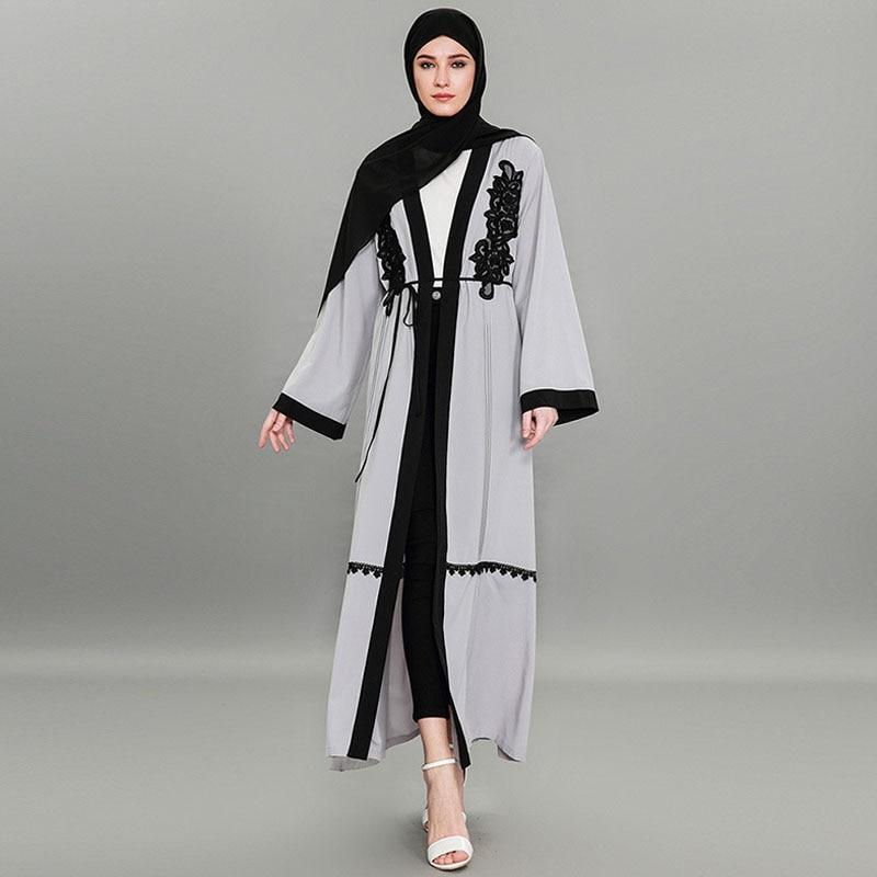 Muslim Abaya Dubai Dress Qatar UAE Arabic Hijab Dress Jilbab Kaftan Robe Musulmane Abayas For Women Turkish Islamic Clothing