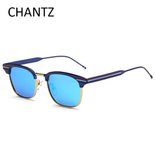 Retro Envoltura Marca Polarizadas de Los Hombres gafas de Sol Mujeres Shades Espejo Reflectante Hombres de Conducción Gafas de Sol de Las Señoras Gafas De Sol Mujer