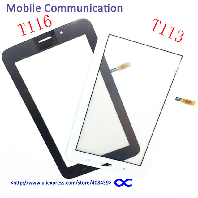 5pcs T116 T113 Touch Screen for Samsung Galaxy Tab 3 Lite SM-T113 T116 Touch Panel Digitizer