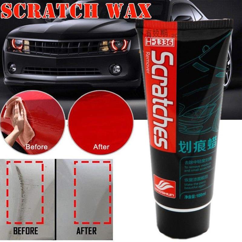 100ml Car Paint Scratch Repair Wax Auto Polishing Grinding Compound Car Motorcycle Automobiles Paste Polishing Care Wax