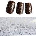 1 Estilos Flor 1xsilver Transferência Nail Art Foils Nail Art Stickers Decorações Nail Dica Decal Manicure Styling Tools STZXK18
