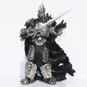 цена на Fall of The Lich King Arthas Menethil 17.5cm PVC Action Figures T30