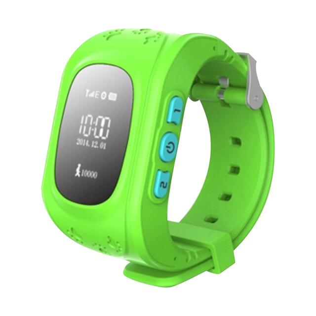 HQ Anti Lost GPS Tracker Watch For Children SOS Emergency GSM Smart Phone App for iOS & Android SmartWatch Bracelet Alarm