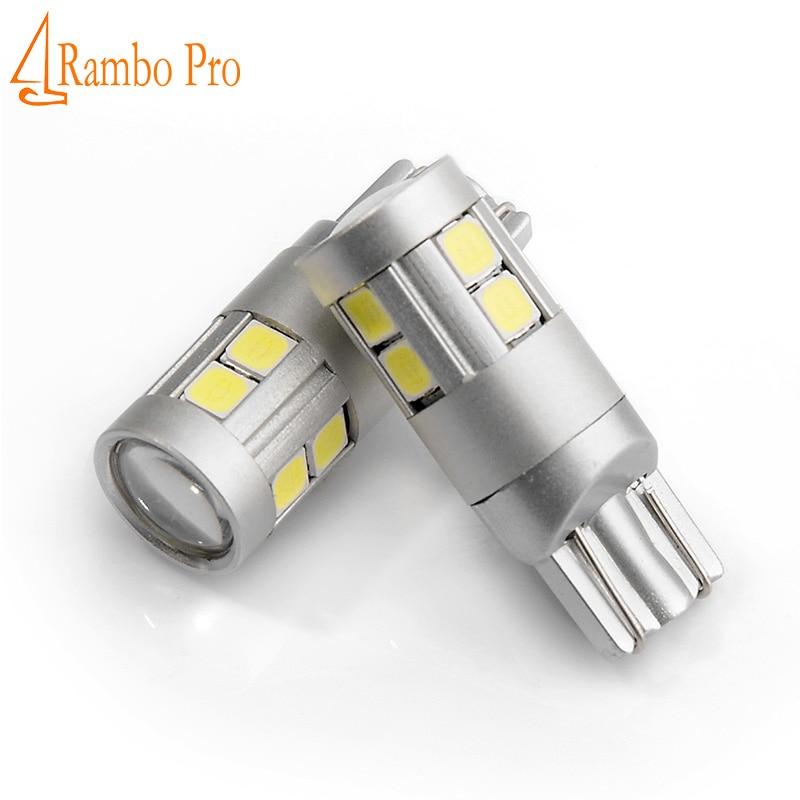 2 stk Car-styling T10 W5W LED nummerpladerlamper Bagagerumslampe - Billygter - Foto 1