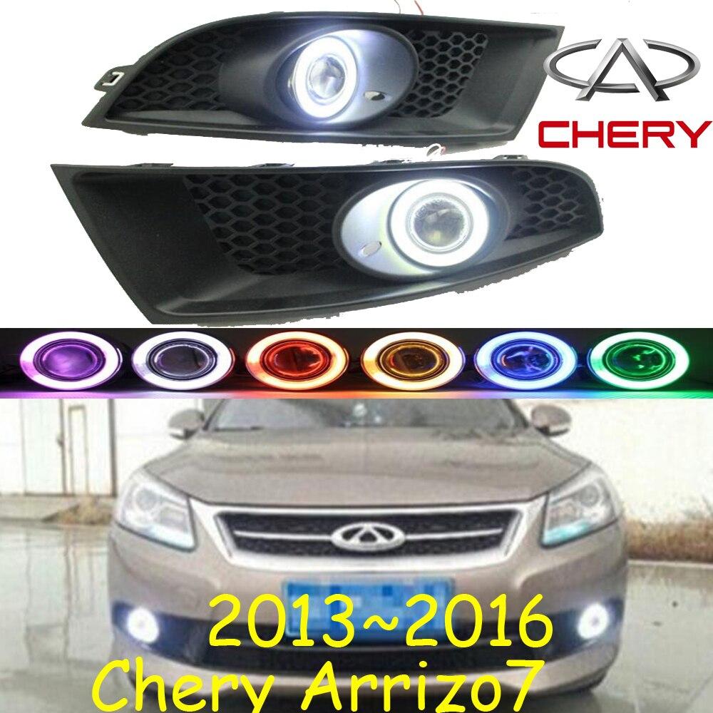 Компания Chery ARRIZO7 противотуманные фары,~2013 2016,Бесплатная доставка!Автомобиль Chery ARRIZO7 днем light2ps/комплект+провод включения/выключения:галоген/Ксеноновые лампы+балласт,Чери