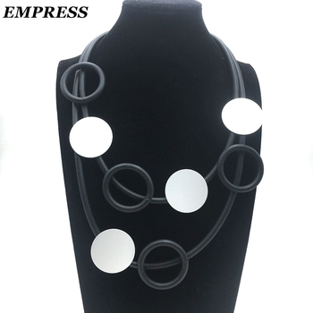 Empress DIY Jewelry Women's Claims The Glamour Hand-Made Multi-Layer Vintage Soft foam Aluminum Necklace