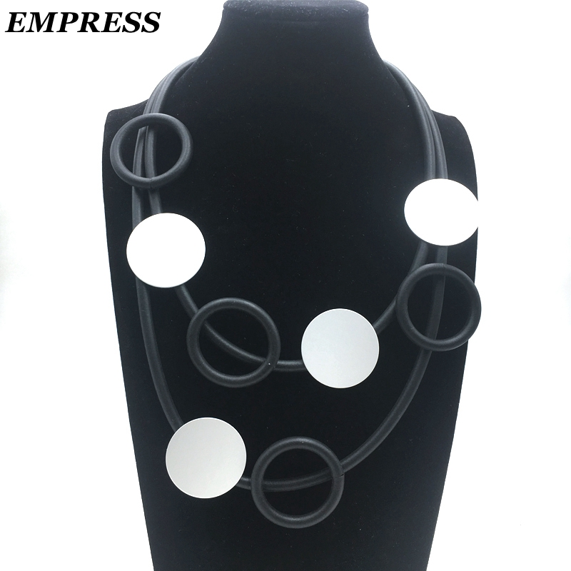Empress DIY Jewelry Womens Claims The Glamour Hand-Made Multi-Layer Vintage Soft foam Aluminum Necklace Is a Lucky Necklace.Empress DIY Jewelry Womens Claims The Glamour Hand-Made Multi-Layer Vintage Soft foam Aluminum Necklace Is a Lucky Necklace.