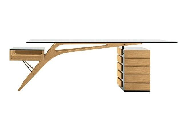 Cavour Desk Table Head Conference Scandinavian Designer Furniture