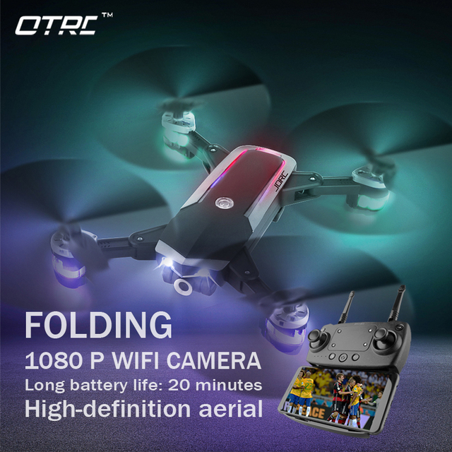 New FPV RC Drone With Live Video And Return Home Foldable RC With HD 720P/1080P Camera Quadrocopter Return Home Foldable toy