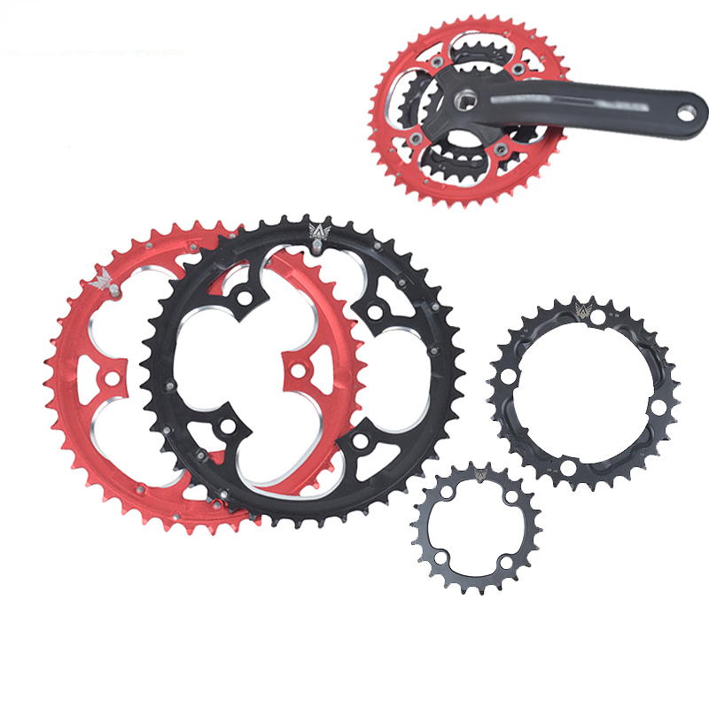 22T 32T 44T MTB Mountainbikes Road Cyklar Crank Hollow Repair Crankset Chainring Tandskiva delar