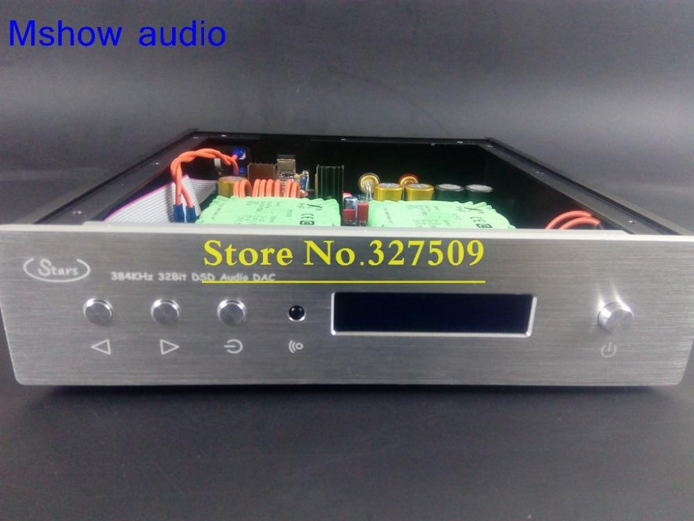 Mshow DUAL AK4495SEQ AK4495 DAC decoder AK4118 PCM 384KHZ + XMOS XU208 USB support DSD DSD128 HIFI audio xiangsheng dac 05b asynchronous xmos dual 1794 ak4118 ak4495 dsd balanced decoding xu208 decoder 32bit 384k dsd256