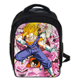 13 Pulgadas Sun Goku de Dragon Ball Z Mochila Niños Mochila niños Mochilas escolares Para Niños Niñas Estudiantes Bolsa Mochilas Diarias Mochila
