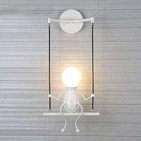 Novelty LED Wall Lamp Swing Shape Decoration Aisle Sconces Modern Wall Light