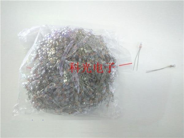 20pcs Miniature Lamp 3mm 12v Indicator Bulb Bombilla Incandescent Filament