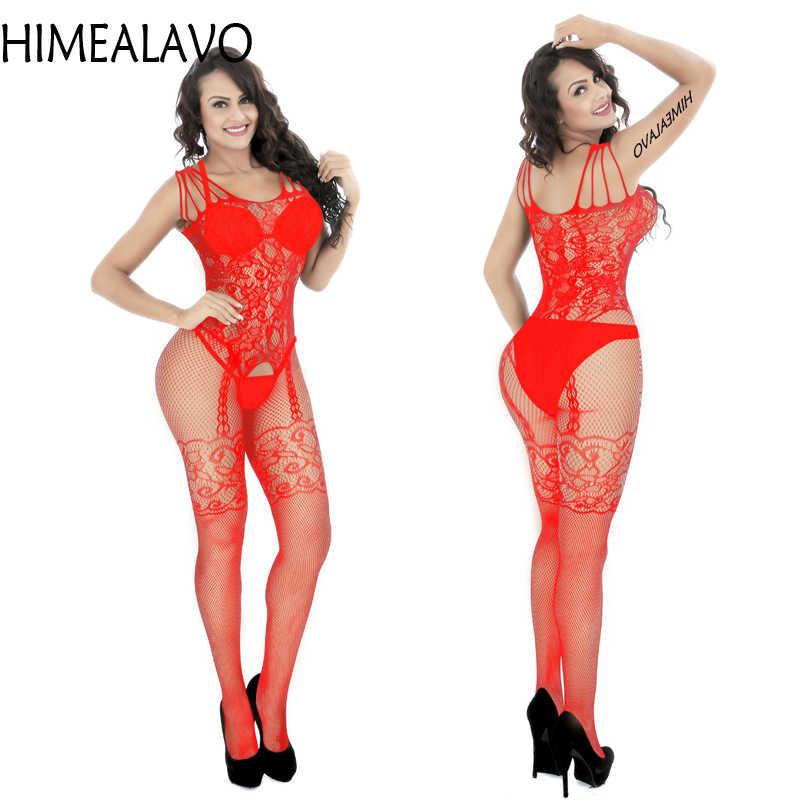 Sexy Dessous Hohl & Spezielle Verwenden Sexy Kleidung Sexy Unterwäsche Exotische Bekleidung Overall Volles Körper Strümpfe Teddies & body