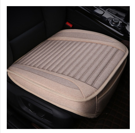 Car seat cushion summer without back of a chair surrounded by four seasons general whole flax three-piece monolithic cushion
