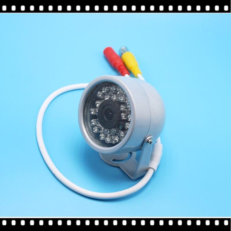 Grande Vente 1/4 cmos 1200TVL petit Extérieure Étanche IP66 CCTV Couleur Mini HD Caméra de Sécurité 24led IR infrarouge nuit Vision