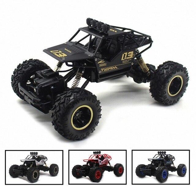 4WD חשמלי RC רכב Rock Crawler שלט רחוק צעצוע מכוניות על רדיו מבוקר 4x4 כונן Off- כביש צעצועי לבנים ילדים מתנה 5188