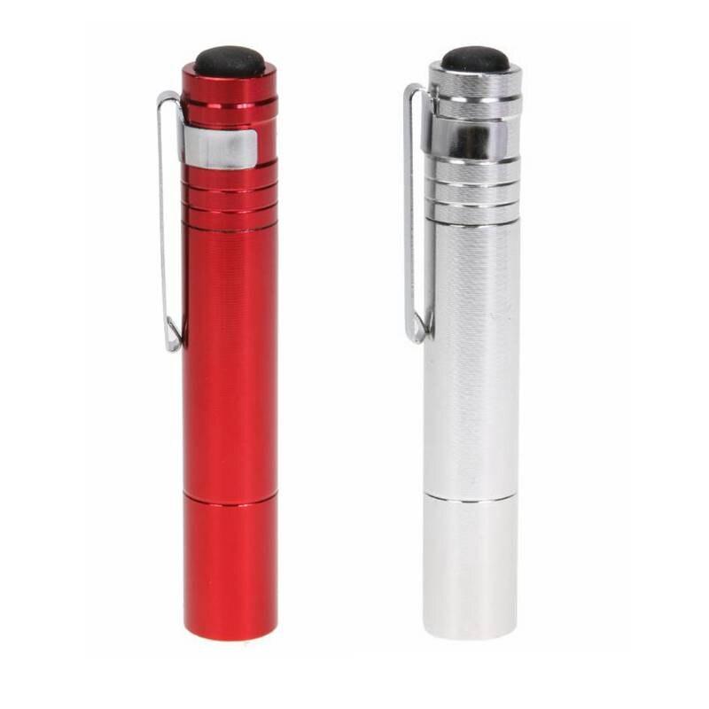 Mini LED Flashlight Portable High Power Medical Pen Flashlights Red