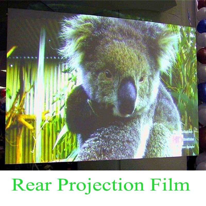 HOHOFILM 152cm x 100cm gris foncé hologramme arrière Projection écran Film magasin maison bureau fenêtre Film écran Film 60 ''x 39.37''