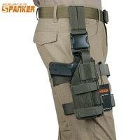 EXCELLENT ELITE SPANKER Outdoor Hunting Combat Universal Gun Holster Set Tactical Training Molle Gun Holster Legs Hanging Sets
