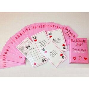 Image 3 - Bliss cartes pour fête de jeune fille, fête denterrement de vie de jeune fille, cartes pour oser léquipe de la mariée dêtre pour les filles, accessoire de soirée, boire, 13 pièces