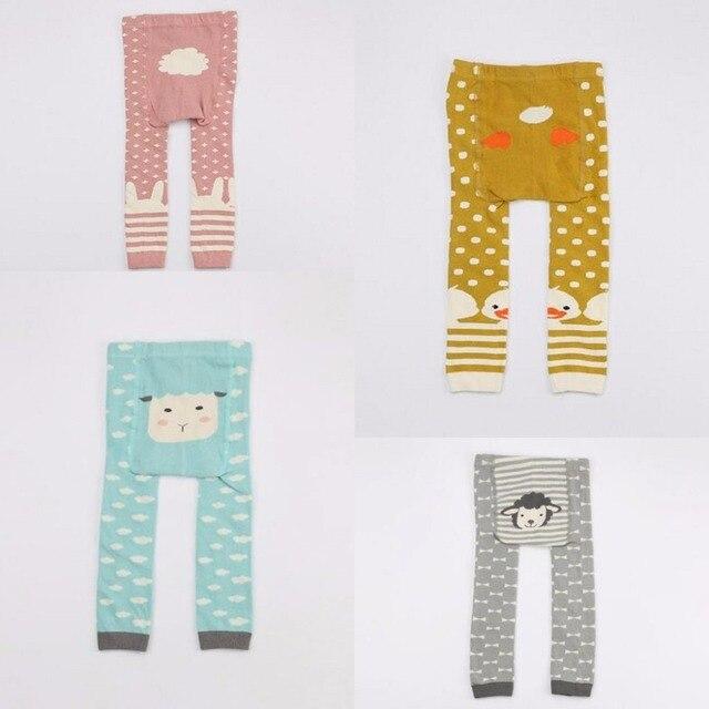 3a872f312a 2017 New Mini dressing Baby Tights Pantyhose Long Tube Girls Warm Tights  Toddler Cartoon Print Animal Cotton Kids Stocking
