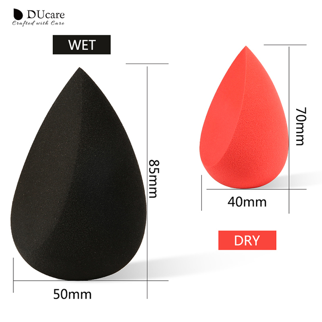 DUcare Makeup Foundation Sponge Makeup Cosmetic puff Powder Smooth Beauty Cosmetic make up sponge Puff 3