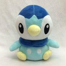 Birthday Toy Gift Hot Anime Pokemon Go Stuffed Toys Supply 7inch Piplup Model Plush Dolls Stuffed Animals Penguin Decorations