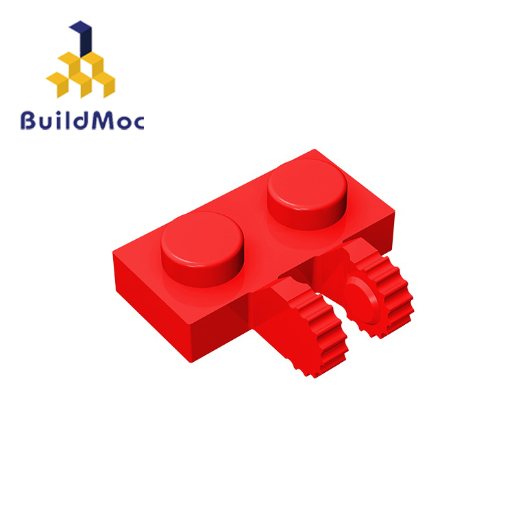 BuildMOC Compatible Assembles Particles 60471 1x2 For Building Blocks Parts DIY LOGO Educational Tech Parts Toys