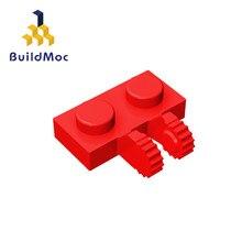 Buildmoc compatível monta partículas 60471 1x2 para blocos de construção peças diy logotipo educacional tecnologia peças brinquedos