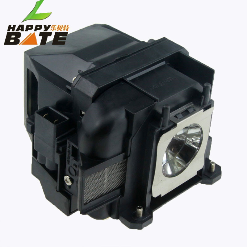 Compatible projector lamp ELPLP78 with housing for PowerLite 98,PowerLite 97,965,955W,PowerLite 1284,1263W,1262W,1222 happybate цена 2017