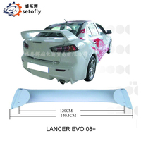 ABS REAR SPOILER FOR MITSUBISHI LANCER EVOLUTION 2008+ YEAR
