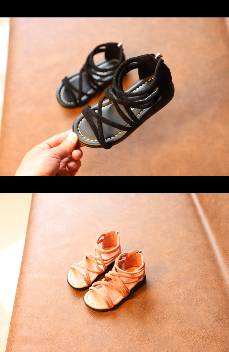 Romanas Niños Niñas Zapatos Sandalias Toddle Ulknn Fiesta Estudiante VSUpqGzM