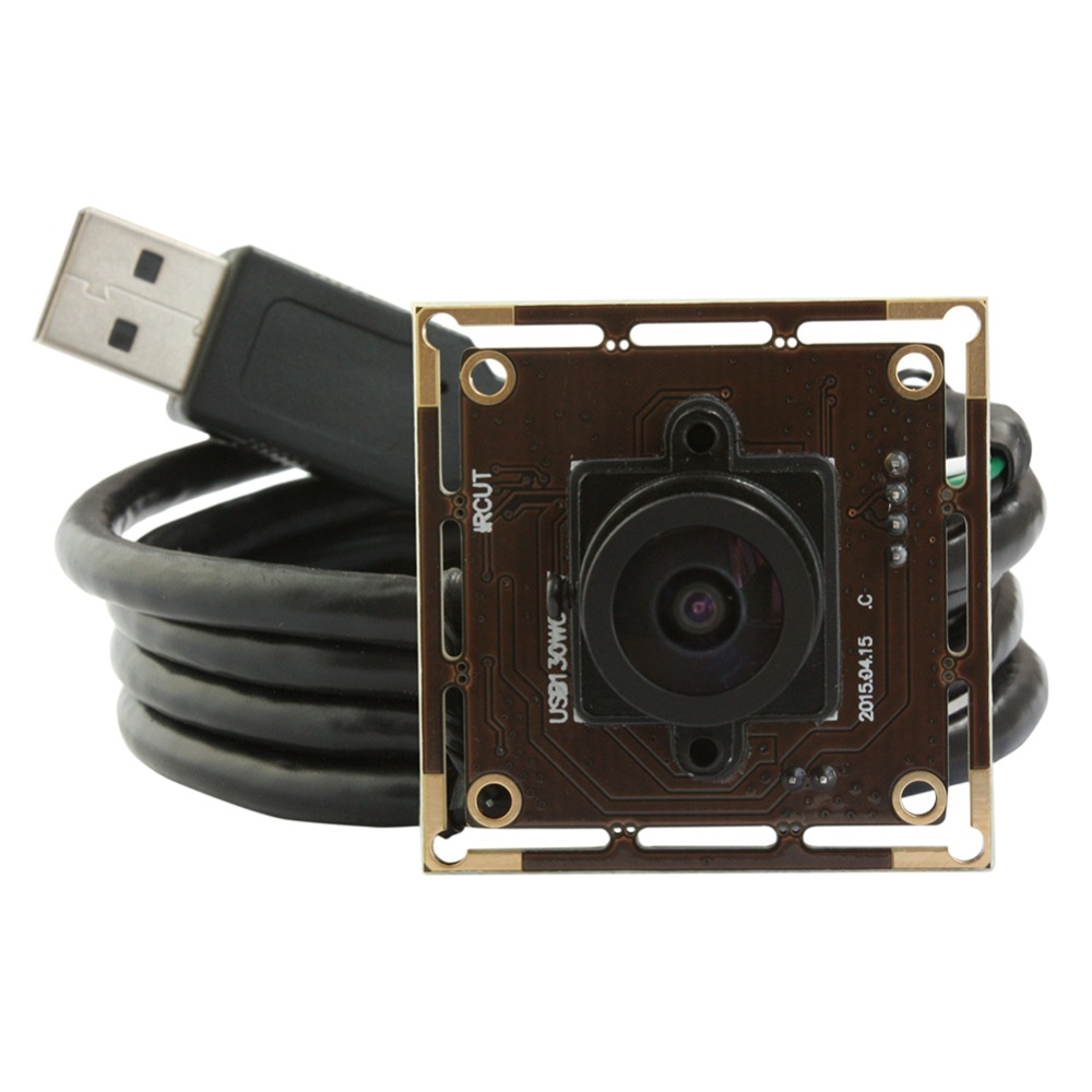 1.3 Megapixel 960P 2.1mm lens AR01301/3 CMOS HD digital low illumination 0.01lux wide angle USB Camera Module for Android/Linux