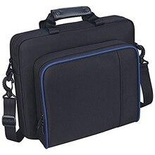 Taşıma Çanta Seyahat Taşıma Çantası Çanta Için PS4 Playstation 4 Konsol Sony Pro Ince Oyun Sistemi Video Oyunları Tuval saklama ...
