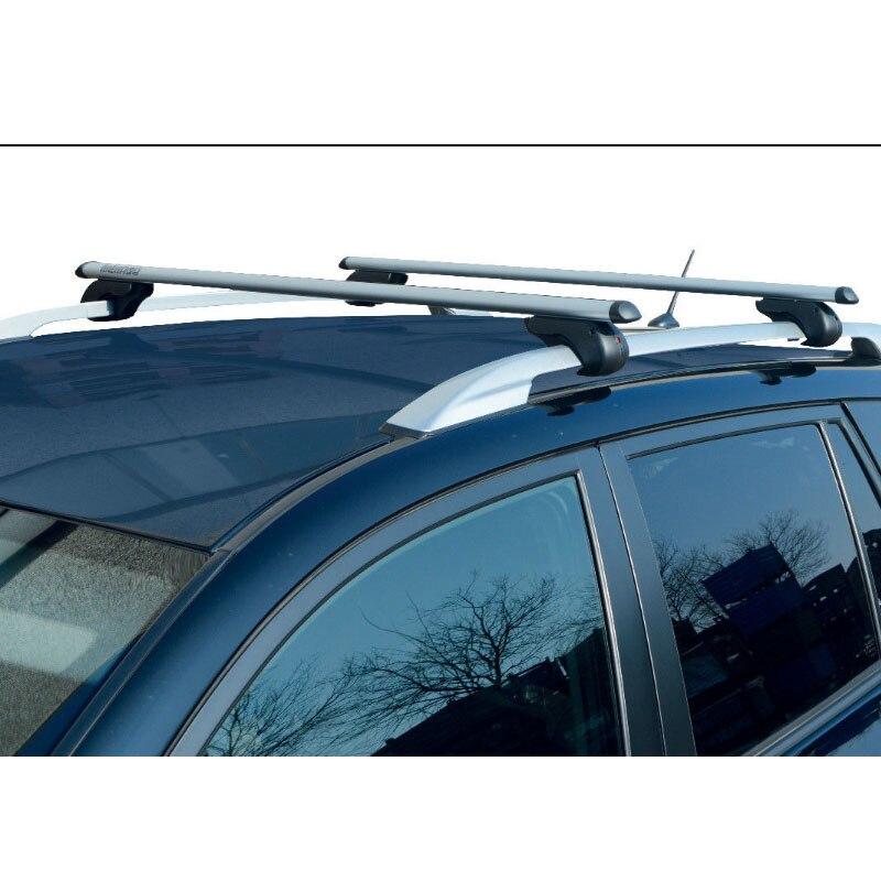Lockable Aluminium Car Roof Rack Rail Bars for Nissan Grand Livina 2013+