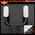 Black&Chrome motorcycle rearview mirror ARLEN NESS MINI oval mirror For Harley cruiser bobber ETRIC VICTORY Dyna Sportster