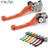 Motocross CNC Pivot Dirt Bike Brake Clutch Lever Handle For KTM 300EXC 300 EXC SIX DAYS
