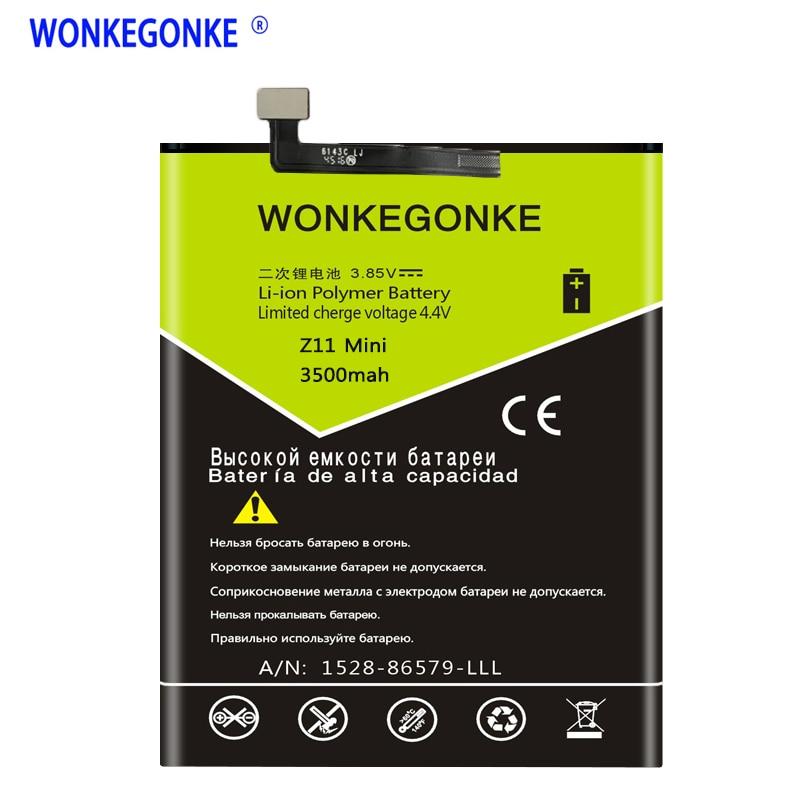 WONKEGONKE Li3827T44P6h726040 pour ZTE Nubia Z11 Mini NX529J batterie