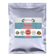 למעלה איכות נאטו תמצית Nattokinase אנזימים אבקה, גבוהה ערך בריאות תוספי תזונה, טוב עבור אדם שמירה על כושר