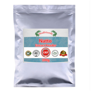 Image 1 - Top Quality Natto Extract Nattokinase Enzymes Powder,High Value Health Nutritional Supplements,Good for Human Keeping Fit