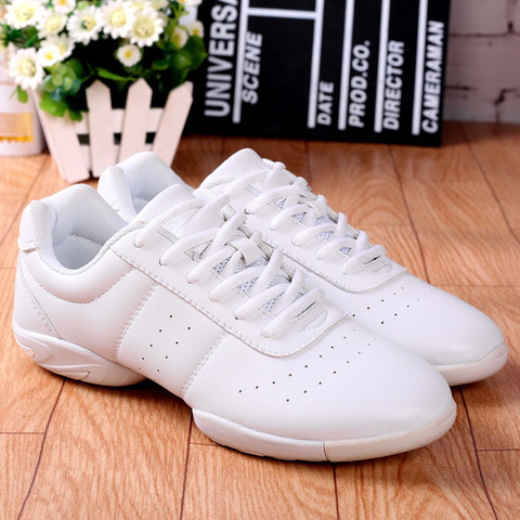 Aerobics Shoes Children Adult Fitness Gymnastics Sports Dance Shoes Jazz Sneakers Cheerleading Shoes Woman Square Dance Shoes Islamabad