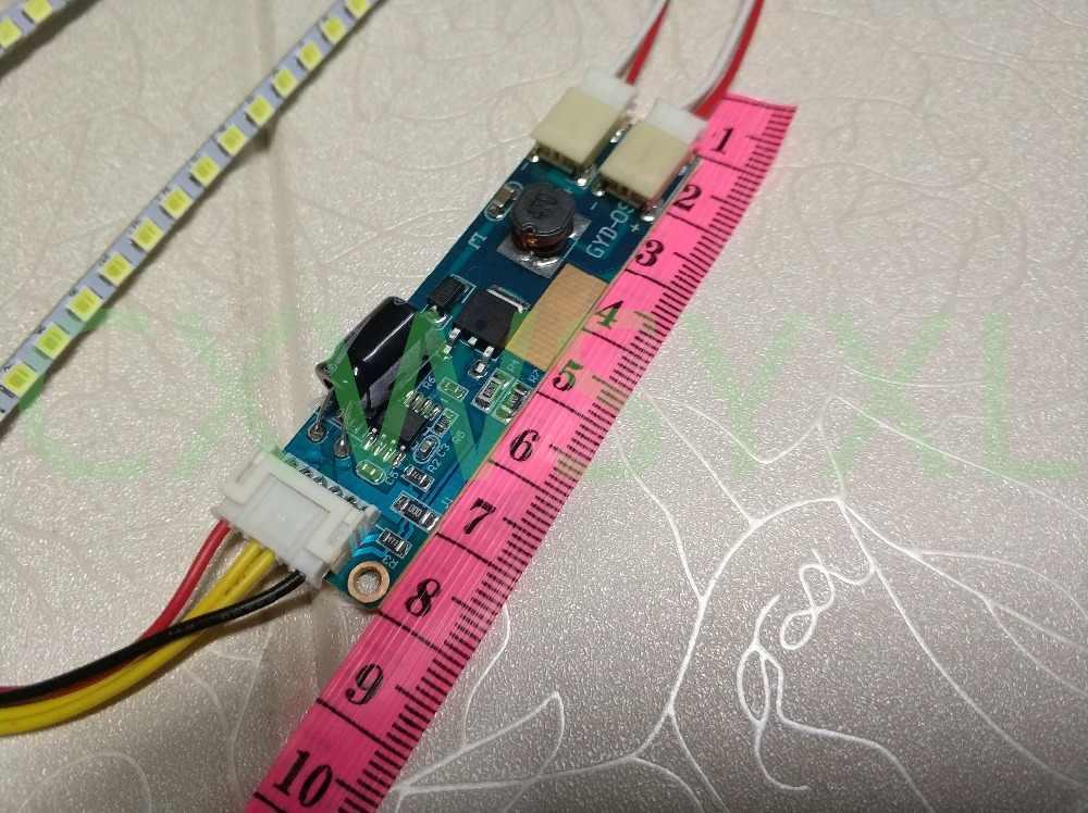 Универсальный Регулируемый светодиодный светильник с подсветкой, обновленный комплект для ЖК-монитора, 2 светодиодный полосы, поддержка 15-22 дюймов, бесплатная доставка