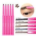 1PC Waterproof Dark Brown Eyebrow Pencil Pen Eye Brow Liner Powder Shaper Makeup Tool