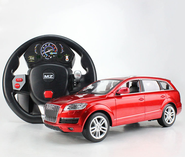 US Induced 2031F Audi Q7 1:14 Remote Control Car Steering