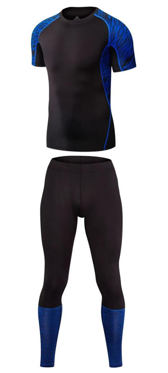 Top quality new thermal underwear men underwear sets compression fleece sweat quick dryi ...