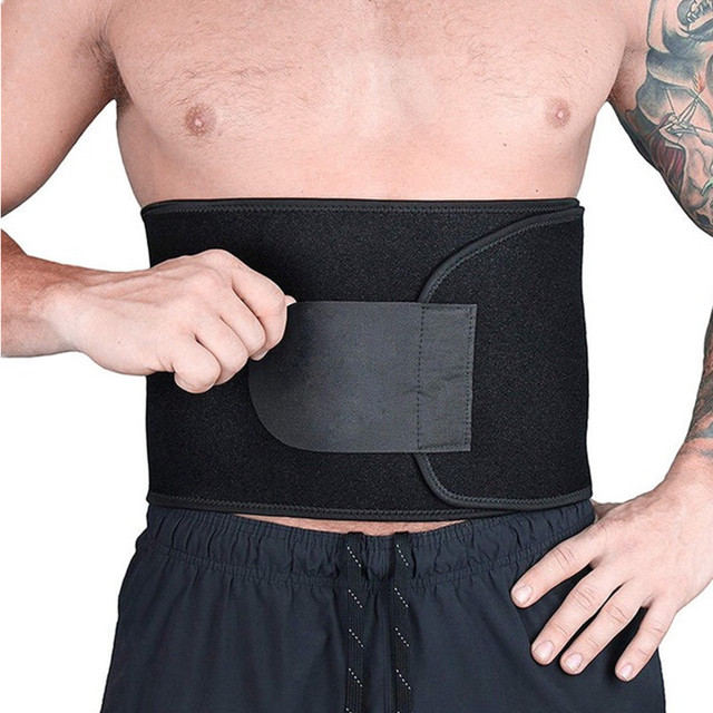 Body Shapers Belts Men's Waist Trimmer Slimming Belt Corsets Slim Girdle Modeling Strap Abdomen Fat Burning Tummy Trainer 1
